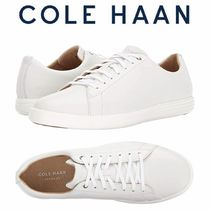 Cole Haan Casual Style Plain Leather Low-Top Sneakers