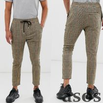 ASOS Other Check Patterns Street Style Bi-color Cotton