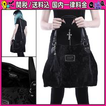 DOLLS KILL Flower Patterns Casual Style 2WAY Totes