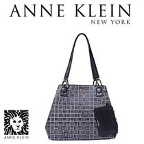 Anne Klein Other Check Patterns PVC Clothing Totes