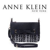 Anne Klein Other Check Patterns PVC Clothing Shoulder Bags