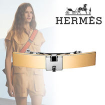 HERMES Costume Jewelry Barettes Elegant Style Clips