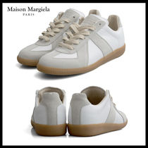 Maison Margiela Street Style Leather Low-Top Sneakers