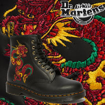 Dr Martens 1460 Lace-up Casual Style Unisex Street Style Plain