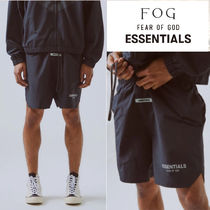 FEAR OF GOD ESSENTIALS Nylon Street Style Collaboration Cotton Joggers Shorts