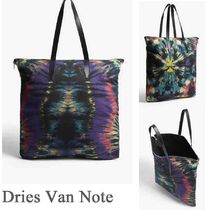 Dries Van Noten Street Style A4 2WAY Leather Totes