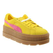 PUMA Other Plaid Patterns Platform Round Toe Lace-up Casual Style