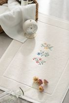DECO VIEW Flower Patterns Collaboration Bath Mats & Rugs HOME