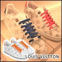 Louis Vuitton 2020 CRUISE FRONT LOW SNEAKER orange blue sneakers low-top