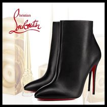 Christian Louboutin Eloise Plain Leather Pin Heels Ankle & Booties Boots