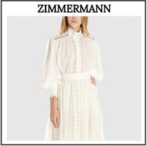 Zimmermann Casual Style Long Sleeves Plain Medium Party Style