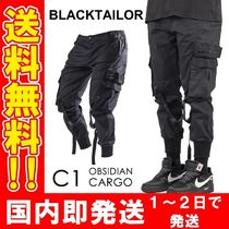 BLACKTAILOR Unisex Street Style Cotton Joggers & Sweatpants