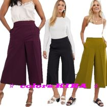 ASOS Plain Medium Culottes & Gaucho Pants