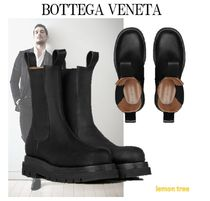 BOTTEGA VENETA Plain Leather Boots