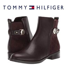 Tommy Hilfiger Round Toe Casual Style Faux Fur Plain Ankle & Booties Boots