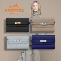 HERMES Kelly Kelly Depliant Medium Verso Wallet