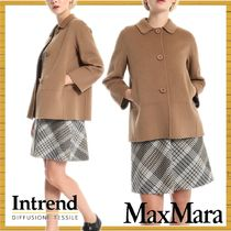 Diffusione Tessile Short Casual Style Wool Party Style Elegant Style Peacoats