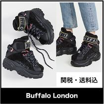 Buffalo LONDON Platform Casual Style Plain Leather