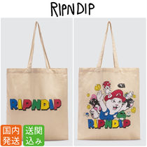 RIPNDIP Casual Style Unisex Bag in Bag A4 Totes