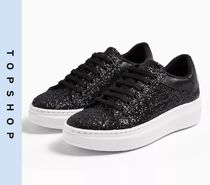 TOPSHOP Casual Style Low-Top Sneakers