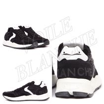 VOILE BLANCHE Plain Leather Sneakers