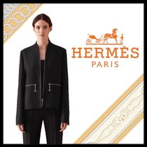 HERMES Plain Medium Formal Style  Jackets