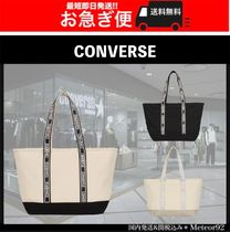CONVERSE Casual Style Plain Totes