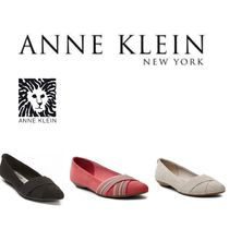 Anne Klein Plain Other Animal Patterns Pointed Toe Shoes