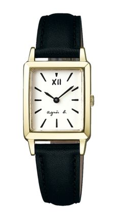 Casual Style Square Quartz Watches Stainless Office Style