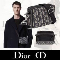 Christian Dior Monogram Unisex Street Style Bag in Bag 2WAY