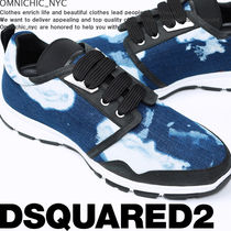 D SQUARED2 Leather Special Edition Sneakers