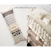Anthropologie Stripes Unisex Blended Fabrics Fringes Art Patterns