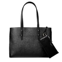 Aspinal of London Casual Style Leather Logo Totes