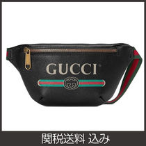 GUCCI 2WAY Leather Hip Packs