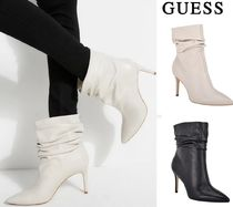 Guess Plain Pin Heels Ankle & Booties Boots