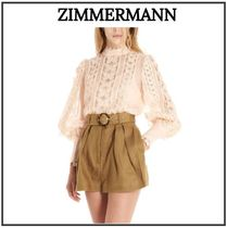 Zimmermann Casual Style Silk Long Sleeves Other Animal Patterns Medium