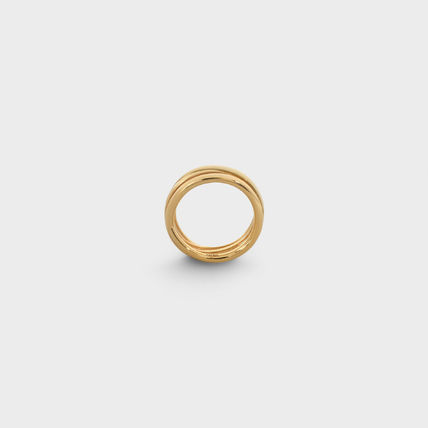 CELINE Rings Party Style Brass Office Style Formal Style  Rings 3