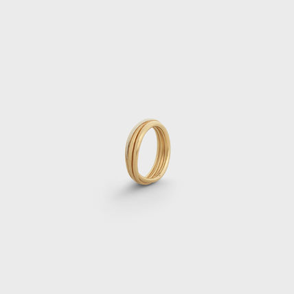 CELINE Rings Party Style Brass Office Style Formal Style  Rings 4