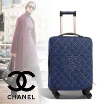 CHANEL 1-3 Days Soft Type Carry-on Luggage & Travel Bags