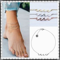 Ron Herman Unisex Special Edition Silver Anklets