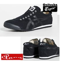 Onitsuka Tiger Unisex Blended Fabrics Street Style Plain Sneakers