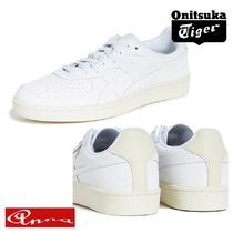 Onitsuka Tiger Unisex Blended Fabrics Street Style Plain Leather Sneakers