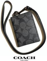 Coach SIGNATURE Monogram PVC Clothing Wallets & Small Goods