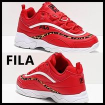 FILA Ray Casual Style Unisex Street Style Other Animal Patterns Logo