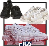FILA Casual Style Unisex Street Style Low-Top Sneakers