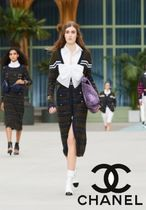 CHANEL Casual Style Plain Party Style Elegant Style