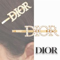 Christian Dior Barettes Party Style Office Style Elegant Style Clips