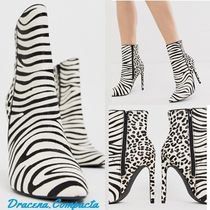 Steve Madden Zebra Patterns Ankle & Booties Boots