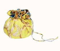HERMES petit h Casual Style Blended Fabrics Handmade Party Style Purses