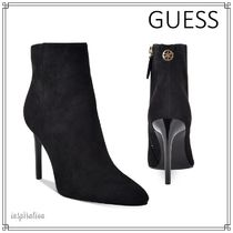 Guess Plain Pin Heels Elegant Style Ankle & Booties Boots